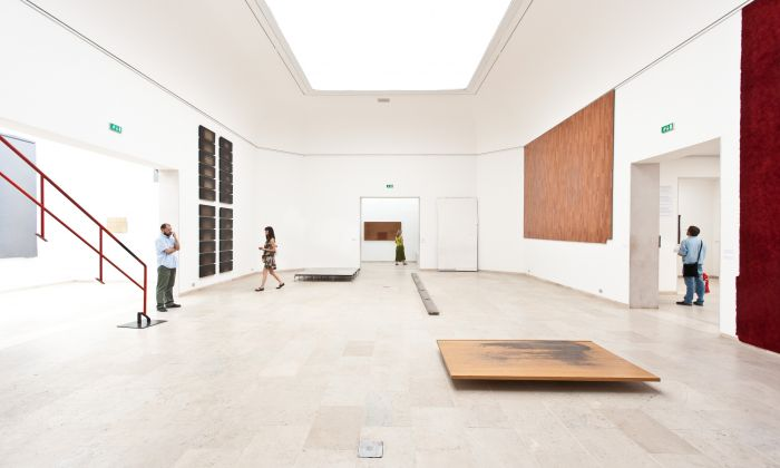 Belgian pavilion at the Venice Biennale in 2010 by Rotor. Photo Eric Mairaux
